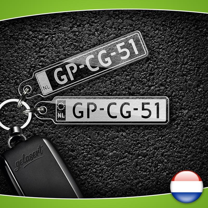 Kennzeichen-Schlüsselanhänger PKW Niederlande