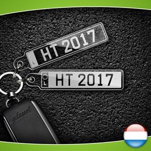 Kennzeichen-Schlüsselanhänger PKW Luxemburg